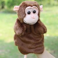 Tıko Peluş Maymun El Kuklası Oyuncak Parmak Kukla Hand Puppet Monkey