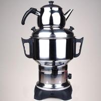 Schrader Elektirikli Çelik Semaver Çay Makinası 4,5 Lt