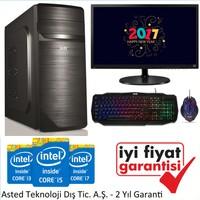 """Izoly M201 Intel Pentium G6950 4GB 250GB Freedos 19"""" Masaüstü Bilgisayar"""
