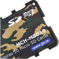 JJC Memory Card Case Hafıza Kartı Tutucu (10 MicroSD Kart - Kamuflaj)