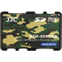JJC Memory Card Case Hafıza Kartı Tutucu (2 SD Kart & 4 MicroSD Kart - Kamufjaj)