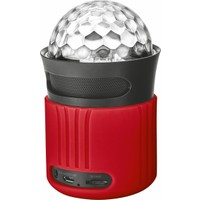 Trust Urban 21346 Dixxo Wifi Bluetooth Speaker Parti Işığı Kırmızı