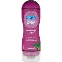 Durex Play 2 İn 1 Massage Gel Aloe Vera 200 Ml