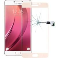 Ally Akıllıphone Samsung Galaxy C7 Pro Full Kaplama Kırılmaz Cam Ekran Koruyucu