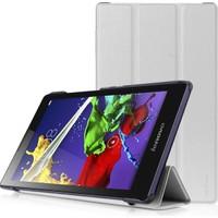 Ally Akıllıphone Lenovo Tab 2 A7-20 Standlı Mıknatıslı Ultra İnce Deri Kılıf
