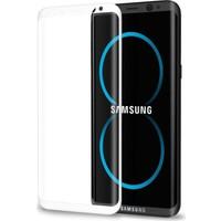 KılıfShop Samsung Galaxy S8 Tam Kavisli Kırılmaz Ekran Koruyucu