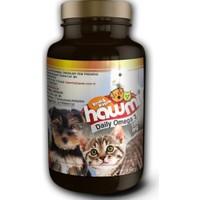 Hawmi Kedi Ve Köpekler İçin Balık Yağı 100 Kapsül 150Mg
