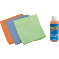 Spectre Mikrofiber Bez 3'Lü Paket ( Cam Temizleme Sıvısı Hediye ! )