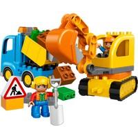 LEGO DUPLO 10812 Kamyon ve Paletli Kazıcı