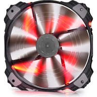 Deep Cool Xfan200-Rd Kırmızı Ledli Kasa Fanı 200 Mm