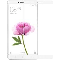 Case 4U Xiaomi Mi Max Full Kapatan Cam Ekran Koruyucu Beyaz