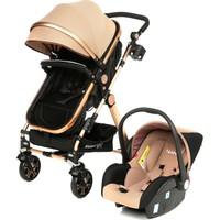 Weego Seyahat Sistem Bebek Arabası 3 in 1 - Kahve