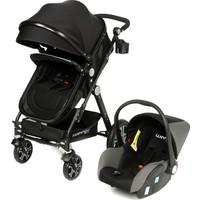 Weego Seyahat Sistem Bebek Arabası 3 in 1 - Siyah