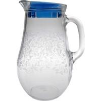 Joy Glass Beyaz Şal Desen Sürahi