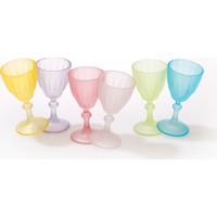 Joy Glass 6'lı Kahveyanı Su Bardağı - Soft Renk