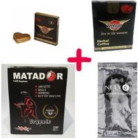 Matador Kuvvet Macunu + Nitromax Çikolata + Kahve + Delay Krem Özel 4'lü Set