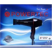 Powertec Turbo Profesyonel Saç Kurutma Ve Fön Makinesi Tr-601