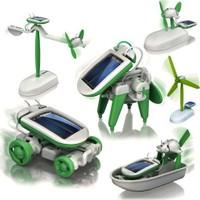Clifton Güneş Enerjili Robot Oluşturma Seti 6 İn 1 Solar Kit