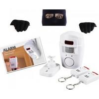 Clifton Kumandalı Hareket Sensörlü Alarm Çift Kumandalı