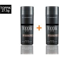 Virtual 2 Adet Saç Fiberi Toppik / Topik 27,5 Gram 3 Farklı Renk