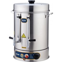 İkram Dünyası Işıkgaz Metal Çevirmeli Musluk Çay Makinaları 400 Bardaklık