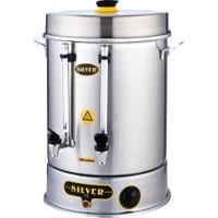 İkram Dünyası Işıkgaz Metal Basmalı Çay Makinası 250 Bardaklık