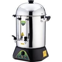 İkram Dünyası Işıkgaz Çay Makinası Metal Musluklu 80 Bardaklık