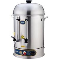 İkram Dünyası Işıkgaz Metal Musluk İkazlı Çay Makinası 250 Bardaklık