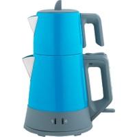 Arnica Demli Stil Çay Makinesi Turkuaz