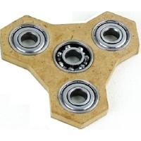 Kırtasiyebank Stres Çarkı Sağlıklı Doğal Ahşap Hand Spinners Model 3