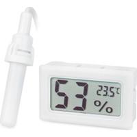 Aek-Tech Prob Kuluçka Nem Ölçer Termometre (Beyaz)