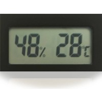 Aek-Tech Mıknatıslı Mini Dijital Termometre Nem Ölçer