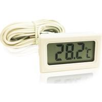 Aek-Tech Mini Dijital Prob Termometre 5M Beyaz