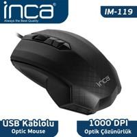 Inca IM-119 Usb Optik Siyah Mouse