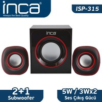Inca ISP-315 Multimedia 2+1 USB  Speaker