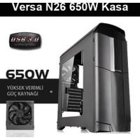 Thermaltake Versa N26 650W USB 3.0 Pencereli Kasa CA-3G3-65M1WE-00