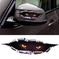Solfera Panter Gözleri Şeklinde Otomobil Stıckerı Etiket Cs030