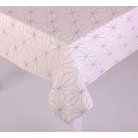 Homeclub Beyaz Diyagonal Dikdörtgen Masa Örtüsü