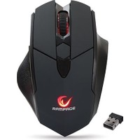Everest Rampage SMX-R12 Hawker Siyah 4800Dpi Gaming Kablosuz Mouse