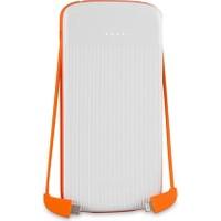 S-link IP-1012 10000mAh Powerbank Beyaz/Turuncu Taşınabilir Pil Şarj Cihazı