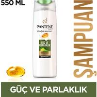 Pantene Şampuan Doğal Sentez Güç ve Parlaklık 550 ml
