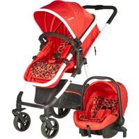 Baby2go Mirage Travel Sistem Bebek Arabası Kırmızı