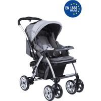Kraft Evo İki Yönlü Bebek Arabası Gri