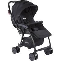 Kraft Pop İki Yönlü Bebek Arabası Siyah