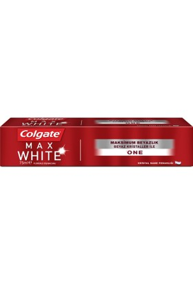 Colgate Diş Macunu Max White One 75 ml