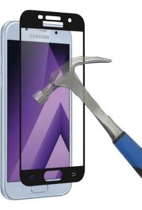 Teleplus Samsung Galaxy A3 2017 Full Kapatan Cam Ekran Koruyucu Cam Ekran Koruyucu
