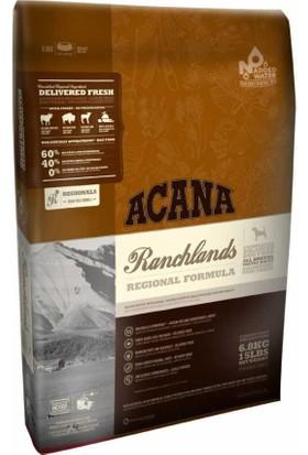 Acana Ranchlands Tüm Irk ve Yaşam Evreleri için Tahılsız Köpek Maması 2,27 Kg
