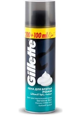 Gillette Tıraş Köpüğü Hassas 300 Ml