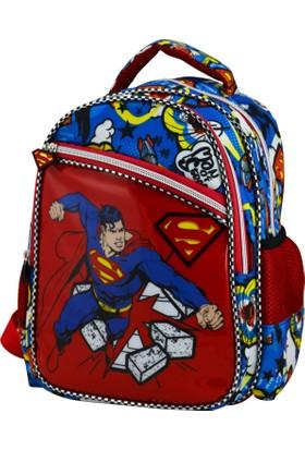 SUPERMAN PUNCH ANAOKULU ÇANTASI ÇAPRAZ