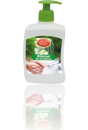 Saraylı Beyaz Bitkisel Sıvı El Sabunu (Sabun Saflığı) 500 ml